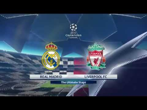 Final EUEFA champions league, Real Madrid vs Liverpool, full match