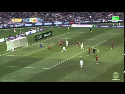 Real Madrid 0 0 PEN 6 7 Roma Friendly Highlights   GoalsArena   Date  17 July 2015