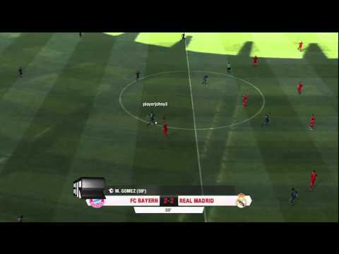 FC Bayern Munich vs Real Madrid(Fifa 13 Interactive World Cup Online Match)