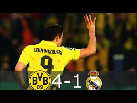 Borussia Dortmund vs Real Madrid (4-1) | Goals and Highlights – UEFA Champions League 2012/13