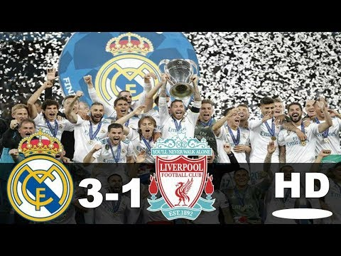 Real Madrid vs Liverpool 3-1 All Goals & Highlights 27 Mei 2018 Final Liga Champions