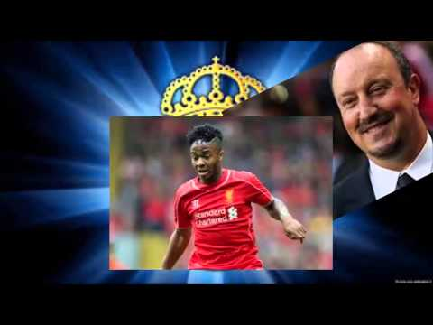 Real Madrid boss Benitez reveals Sterling admiration