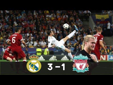 Real Madrid vs Liverpool (3-1) – BALE dans la LÉGENDE, SALAH se blesse !