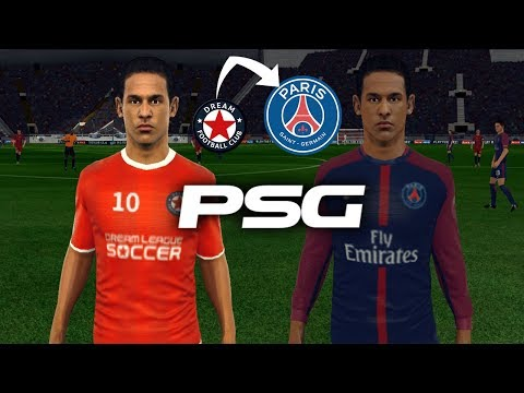 Create PSG Team ★ Kits Logo & Players ★ Dream League Soccer 2018
