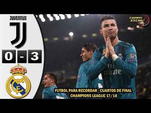 Juventus vs Real Madrid 0-3 UCL 17/18 Resumen Highlights Relato de Fernando Palomo 03/04/2018