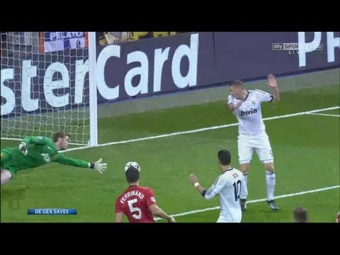 David De Gea Six AMAZING Saves – UEFA Champions League Real Madrid vs Manchester United 13-2-13