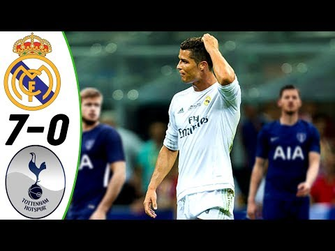 Real Madrid vs Tottenham 7:0 – All Goals & Extended Highlights RESUMEN & GOLES (Last 3 Matches) HD