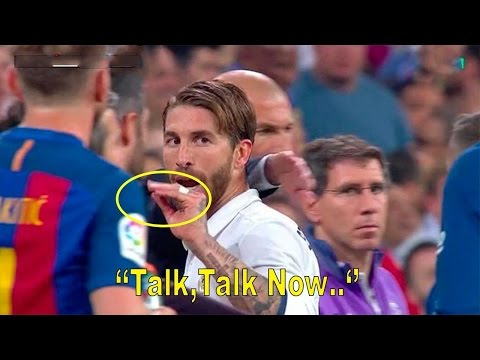 Sergio Ramos VS Gerard Pique – Battle of Provocation