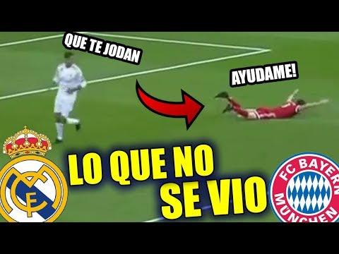 LO QUE NO SE VIO entre Real Madrid vs Bayern Munich 2-2 Resumen