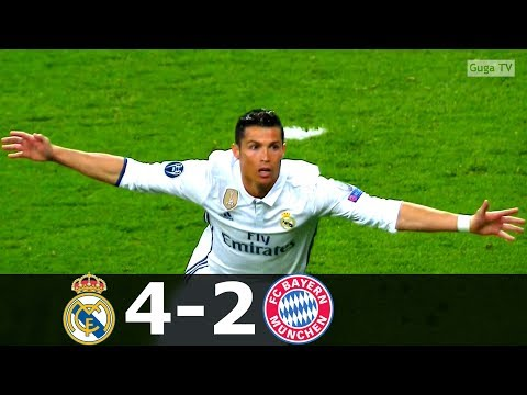 Real Madrid vs Bayern Munich 4-2 (aet) – UCL 2016/2017 (2nd Leg) – Highlights HD