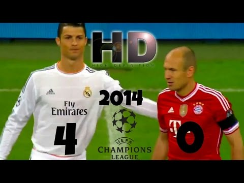 Real Madrid 4 – Bayern Munich 0 – Champions League 2014 HD