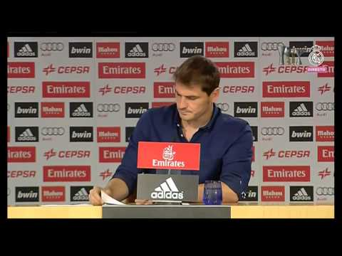 Iker Casillas Last Press Conference as Real Madrid player (12/07/2015)