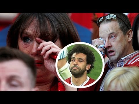 Mohamed Salah Crying | Liverpool Fans Crying Champions League Final 2018