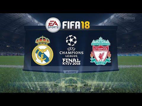 FIFA 18 – Champions League Final – Real Madrid vs. Liverpool – FIFA Predicts