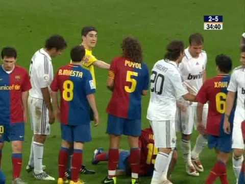 Real Madrid vs Barcelona partido historico ( 4/5) 2do tiempo
