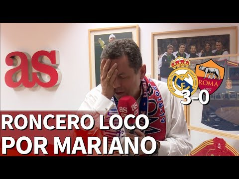 Real Madrid 3-0 Roma | Roncero feliz con el debut del Madrid en Champions | Diario AS