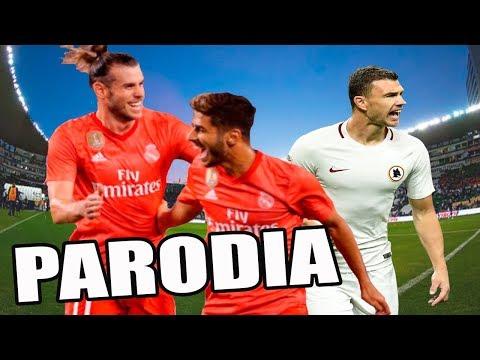 Real Madrid vs Roma 2-1 Canción (Parodia Mau y Ricky, Karol G – Mi Mala)