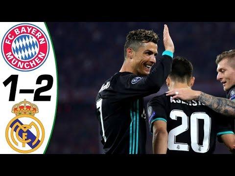 Bayern Vs Real Madrid 1 – 2 Champions League 25.04.2018