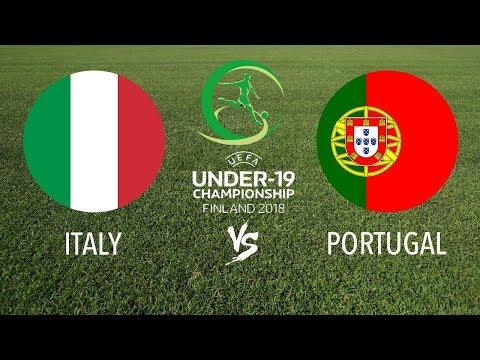 ITALY vs PORTUGAL ⚽ U19 European Championship ⚽ LIVE SCORE HD