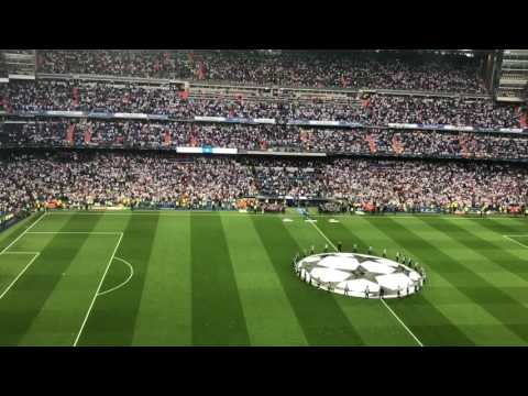 Real Madrid v Bayern Munich – Hala Madrid and UCL Anthem 4/18/17