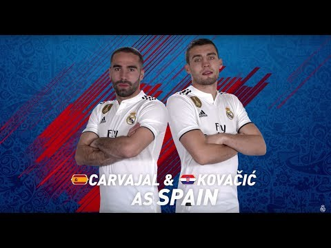 EA SPORTS FIFA | FIFA 18 World Cup | BRASIL Casemiro & Varane vs SPAIN Carvajal & Kovacic
