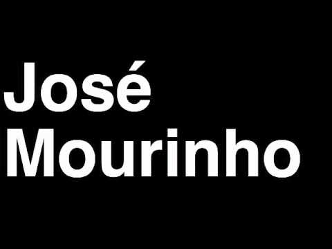 How to Pronounce Jose Mourinho Real Madrid CF Football Soccer Manager Coach Angry Press Interview