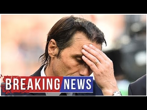 Breaking News – Real Madrid next coach: Los Blancos have only two weeks to hire Antonio Conte or …