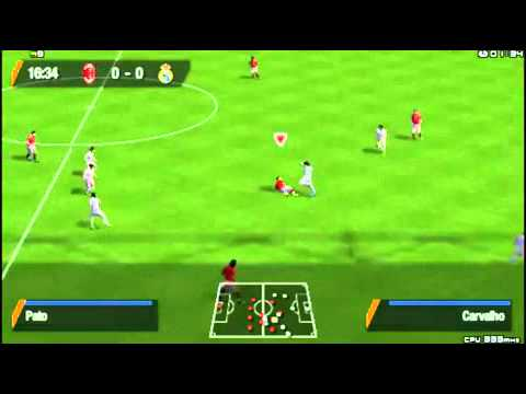 [PSP] Fifa Soccer 12 Gameplay and Free Download Link – Real Madrid vs AC Milan