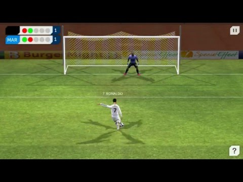 Dream League Soccer – Real Madrid vs Marsel (Penalty kick)