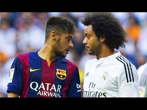 Neymar Jr ● Destroying Real Madrid |HD|