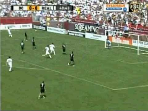Real Madrid vs DC United Highlights 8/9/09 (English)