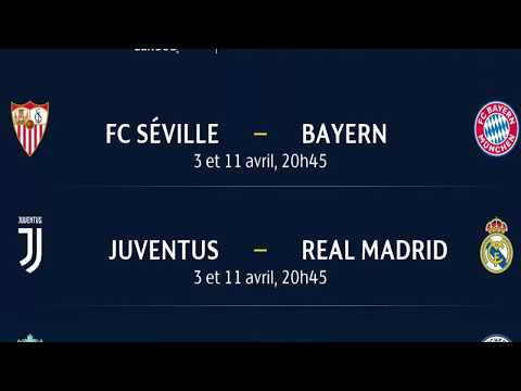 tirage ligue des champions 2018 :  Juventus-Real Madrid et Liverpool-Manchester City