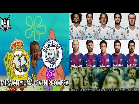 MEMES REAL MADRID VS BARCELONA PREVIA SUPERCLASICO ESPAÑOL International Champions Cup 29/07