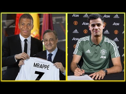 INSANE TRANSFER NEWS! Top 5 CRAZY Transfer Rumours January 2019 ft. Coutinho & Mbappe