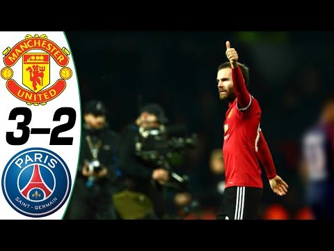 Manchester United vs PSG 3-2 – All Goals & Highlights Résumé & Goles (Last Matches) HD