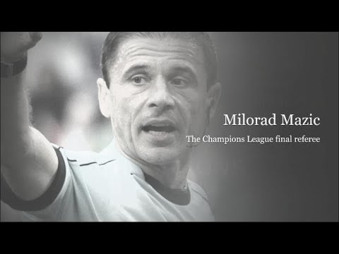 Champions League final Referee – Milorad Mazic 27 May 2018