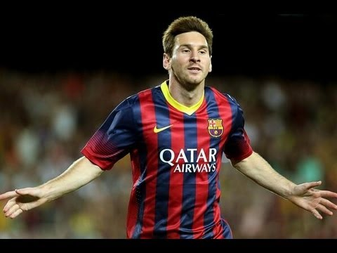Barcelona vs Levante (7-0) All Goals & Highlights 18.08.2013  Barcelona  7×0  Levante