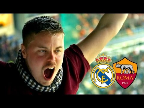 This Is How Roma Fans Put Real Madrid To Shame | UCL Away Days | Nissan & Copa90