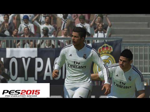 Probando PES 2015 – Demo, Equipos, Contenido y Partidazo Real Madrid Vs Bayern Munich Gameplay