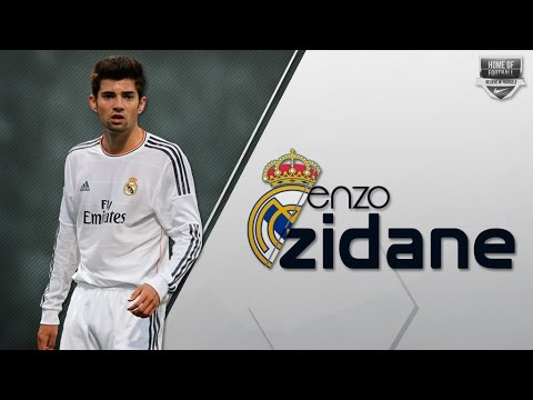 ENZO ZIDANE | Real Madrid | Goals, Assists, Skills | 2016/17 (HD)