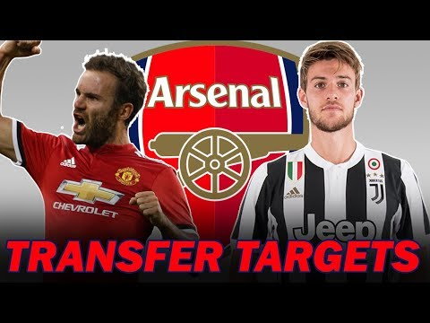 10 Arsenal Transfer Targets in January 2019 #2