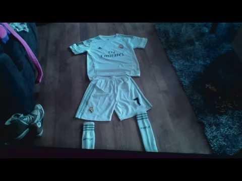 Real Madrid kit 2015/16 Ronaldo