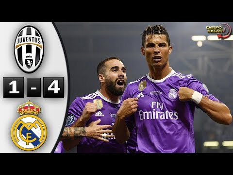 Juventus vs Real Madrid 1-4 UCL Final 2017 Resumen Highlights 03/06/2017