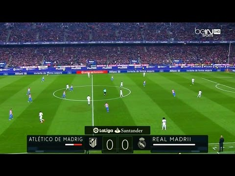 La Liga 19/11/2016 Atlético Madrid vs Real Madrid – HD – Full Match – French Commentary