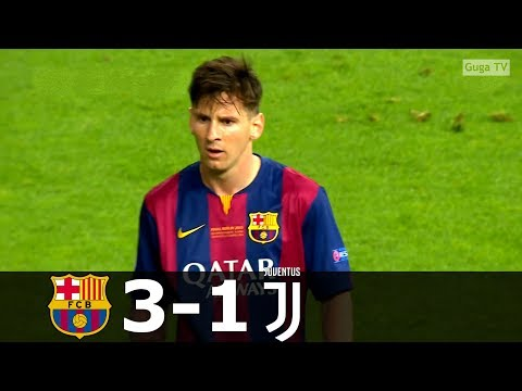 Barcelona vs Juventus 3-1 – UCL Final 2015 – Full Highlights HD