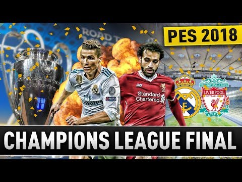 [TTB] PES 2018 – Champions League FINAL! – Real Madrid vs Liverpool – Game of the Week