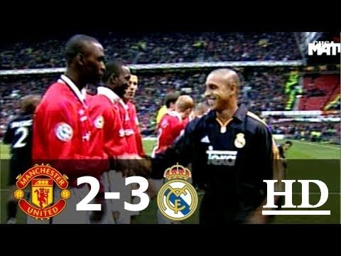 Manchester United vs Real Madrid 2-3 UCL 1999-2000 2nd Leg  Full Highlights ||HD||