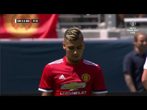 Andreas Pereira vs Real Madrid 23/07/17 HD