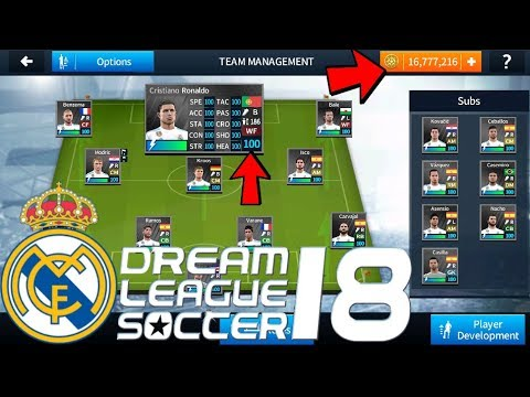 REAL MADRID GAMEPLAY – DREAM LEAGUE SOCCER 2018 ANDROID / iOS