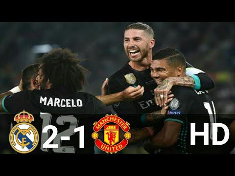 Hasil Real Madrid vs Manchester United 2-1 – All Goals & Highlights Piala Super (09-08-2017)